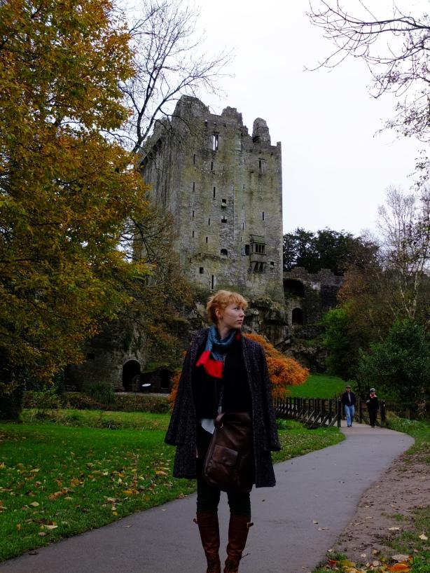 Outside Blarney Castle