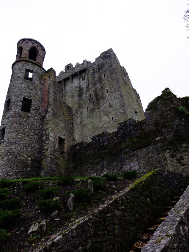 Blarney Castle outside walls