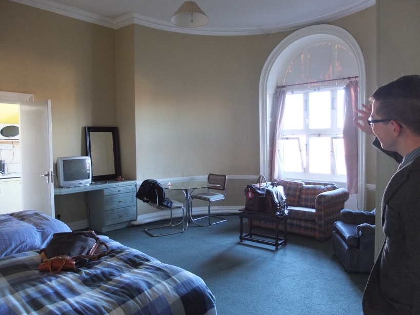 Our hostel room