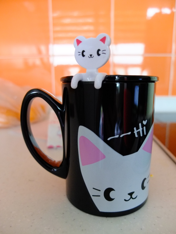 Kitty Mug and Spoon